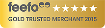 Feefo Gold Rating